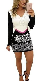 ddcf2badd418 Vestido Trico - Vestidos Femeninos com o Melhores Preços no Mercado Livre  Brasil