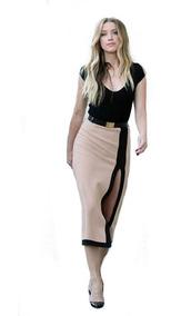 241bd456e Vestido Moderno Largo Con Blusa Para Mujer Envio Gratis 5107