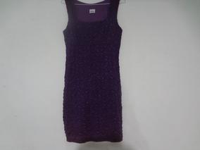 Vestido Morado Pegado Corto Cortos Vestidos Violeta Oscuro
