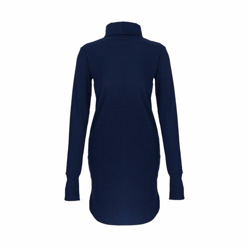 vestido morley remeron polera guantes mujer cuello alto moda