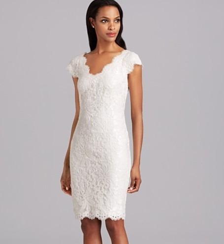 fccd773ee0 Vestido Muito Feminino Elegante Clássico Fino Renda Branco - R  188 ...