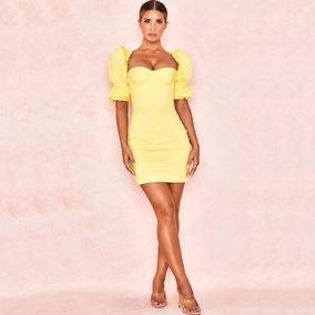 3e20066b6fb2 Vestidos Amarillos Cortos Mujer De Noche Jalisco - Vestidos de Mujer ...