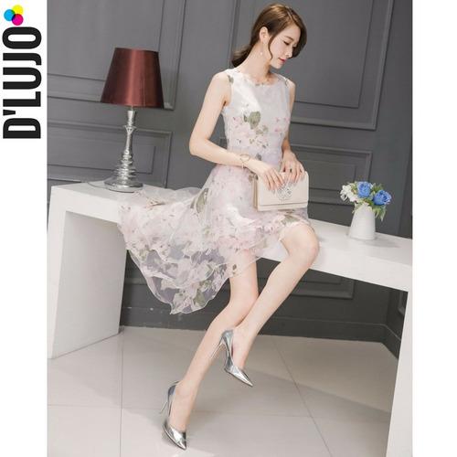 vestido mujer elegante vintage casual fiesta grado calidad !
