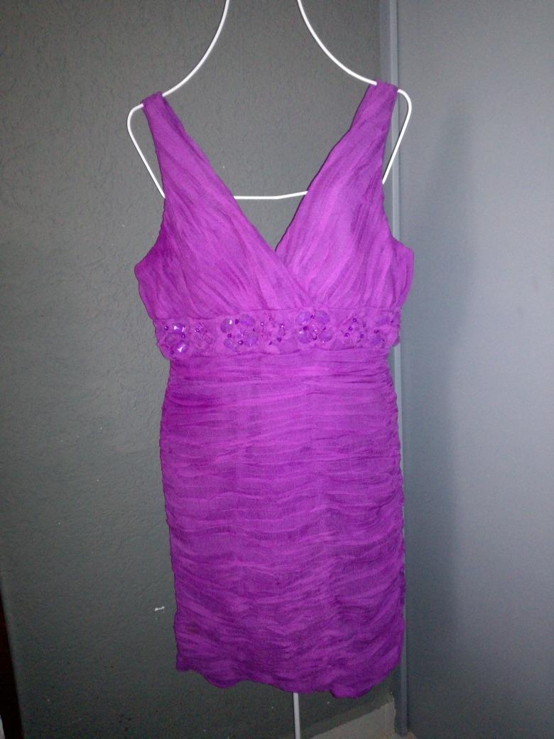 Vestido Mujer Eva Brazzi Morado Cocktail Talla 14 - $ 999.00 en ...
