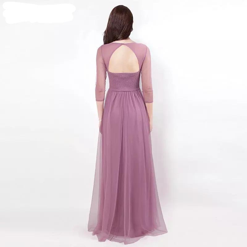 6c62f578c2cd Vestido De Mujer Elegante Con Mangas Fiesta Delicado