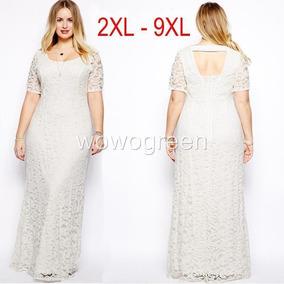 dfd58fa7f Vestidos Blancos Elegantes Largos Baratos - Vestidos en Mercado ...