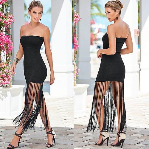vestido mujer largo