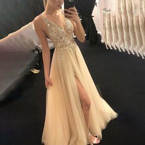 Vestido Mujer Largo Elegante Coctel Fiesta Envío Gratis