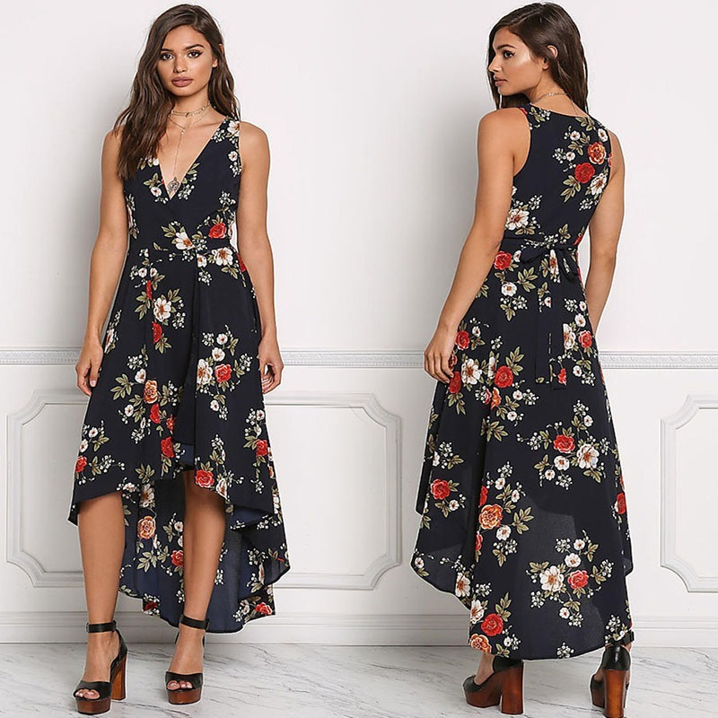 7df679255 Vestido Mujer Largo Verano Fiesta Tropical Casual - $ 106.700 en ...