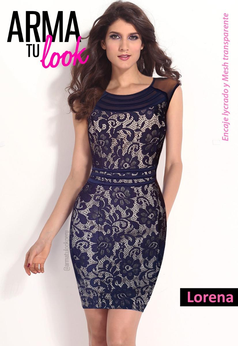 Vestido Mujer Lorena - Fiesta Oficina Coctel Arma Tu Look - S/ 160 ...