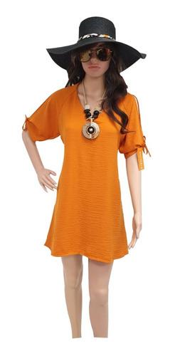 vestido mujer manga abierta primavera verano moda casual