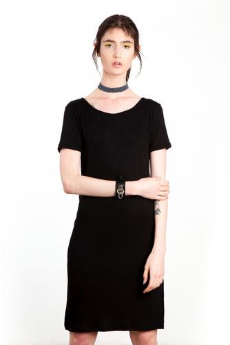 vestido mujer saloon soma black