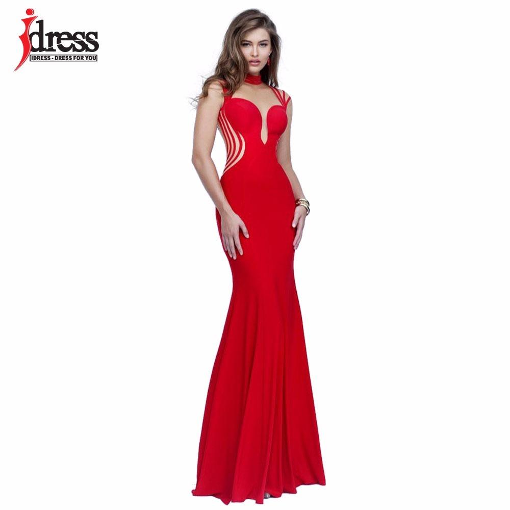 30c14ef95 vestido mujer sexy rojo largo fiesta coctel evento boda dama. Cargando zoom.