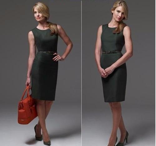vestido mujer uniformes empresariales