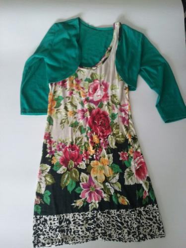 vestido mujer verano + manguita!