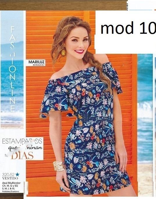 f3b00b89bd67d Vestido Multicolor Cklass 320-52.. Outlet saldos Mchn -   230.00 en ...