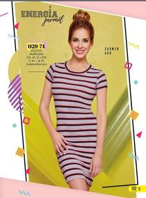 1742f06356 Vestido Rayas - Vestidos Casuales de Mujer Gris en Mercado Libre México