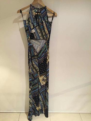vestido multicolor strech studio f