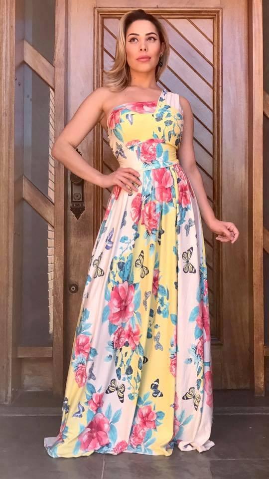 8c3a000f6 vestido multiuso 5 formas diferentes de usar- roupa feminina. Carregando  zoom.