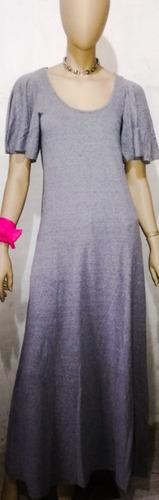 vestido musculosa maxi gris largo liso, varios colores