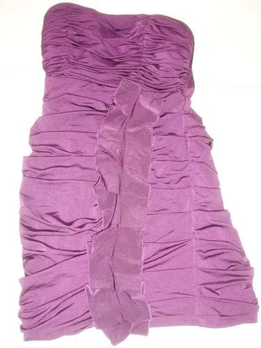 vestido my michelle violeta talle m spandex