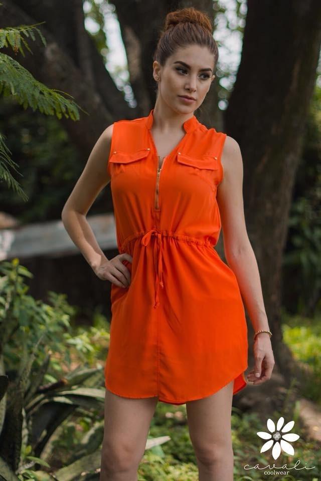 0d93aa44 vestido naranja mundo terra*detalles* .. outlet/saldos mchn. Cargando zoom.