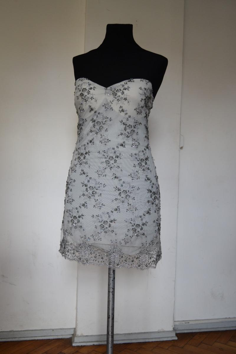2891b29e30 vestido natalia antolin corto piedreria encaje. Cargando zoom.