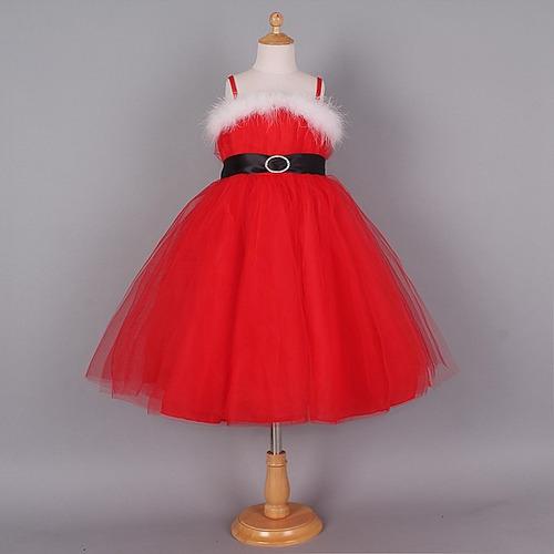 Vestido Navidad Santa Niña Moda Importada - $ 499.00 en