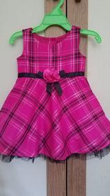 b794e8dcd Vestido Navideño Para Niña Talla 12 18 Meses Ropa Americana