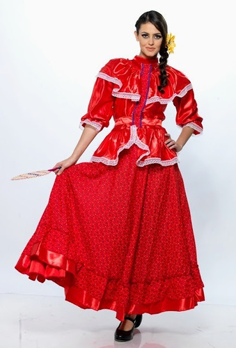 vestido nayarit regional tipico traje disfraz nayarita doble