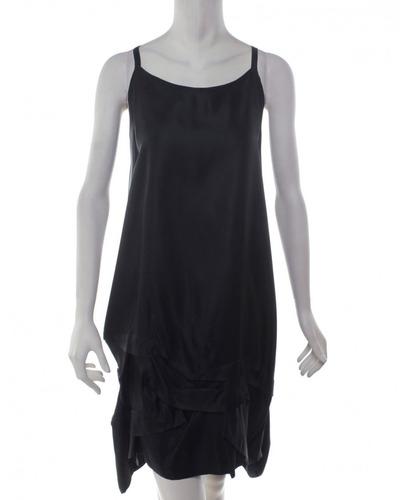 vestido negro alice+olivia