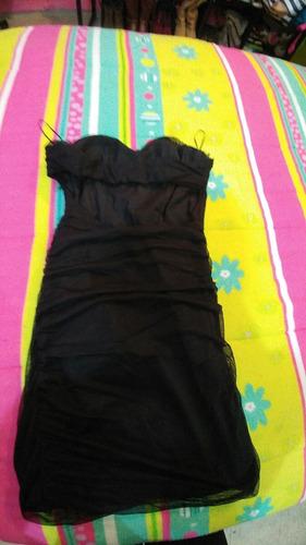 vestido negro bershka !!