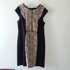 Pantalon Zara Mujer Brocado Negro Formal Talla S $ 300.00