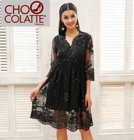 b4ec72373ea Vestidos Cortos Escotadas - Vestidos de Mujer Corto Textura en ...