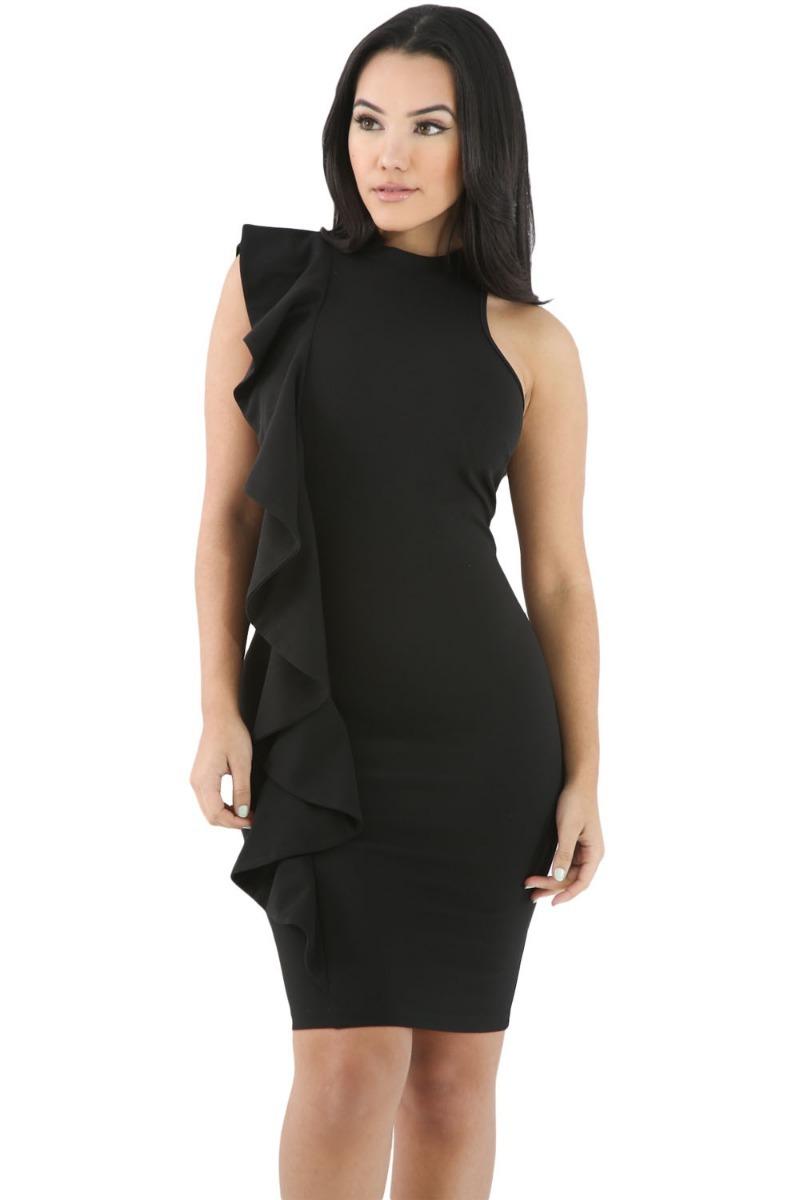 Vestidos negro cortos de fiesta