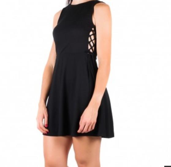 Vestido negro dama