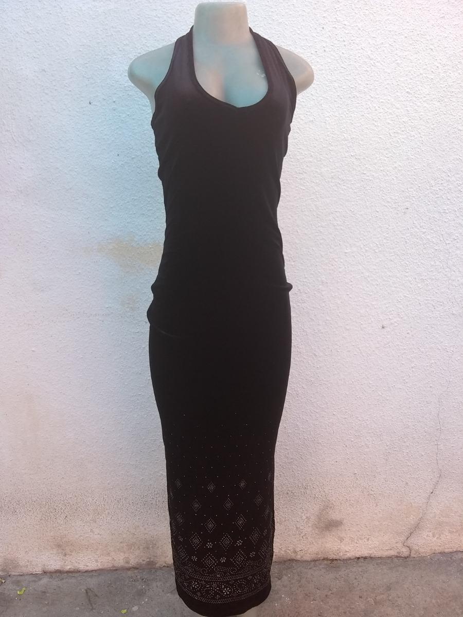 830ac644a3 Vestido Negro De Gala O Fiesta Terciopelo 1 Sola Postura - Bs ...
