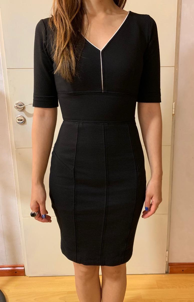 Vestido negro de oficina