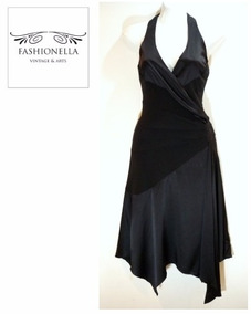 b6d979ea33 Vestido Negro En Seda Bebe - Fashionella - Xs T9y2 T9y3 T9y0