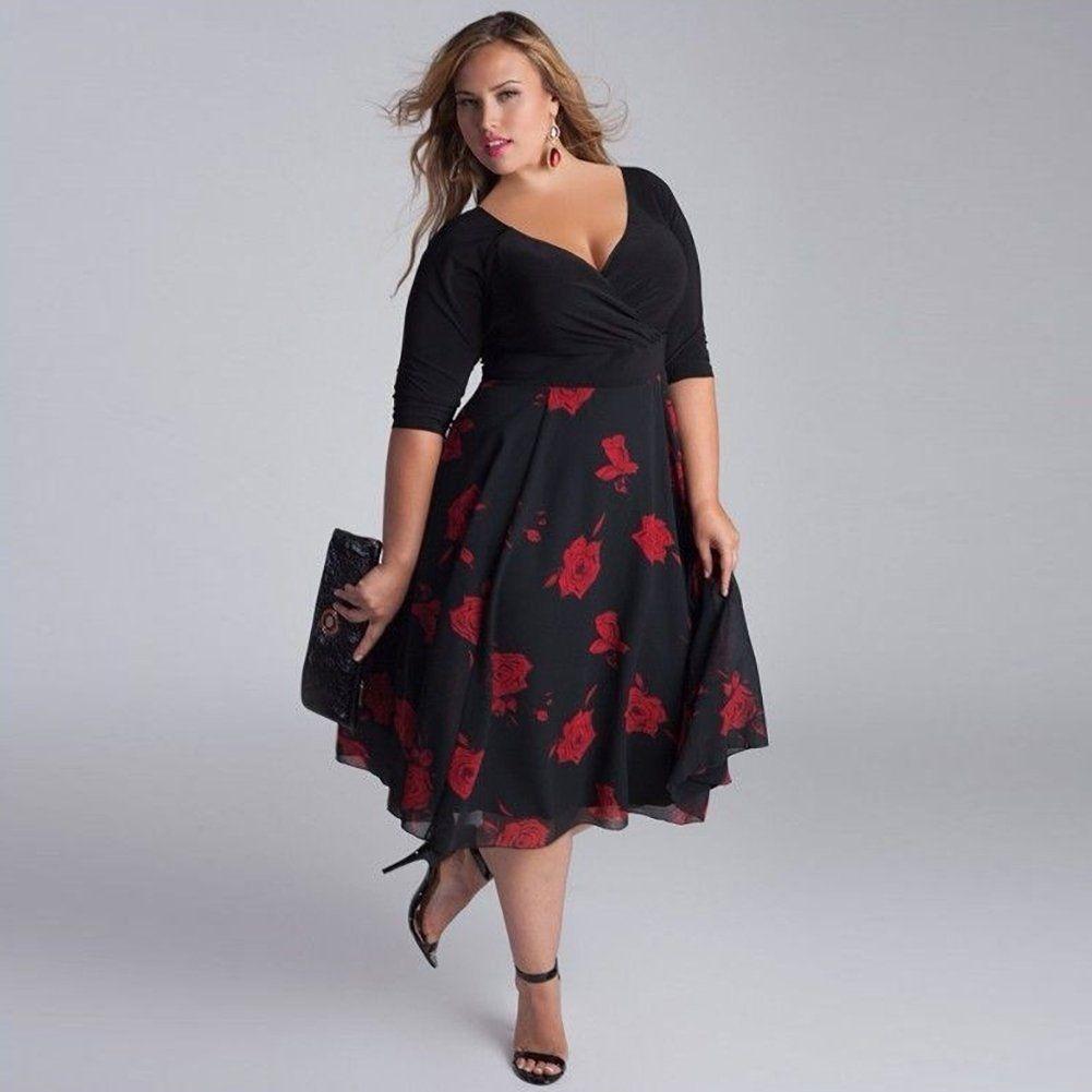 Vestido negro xl