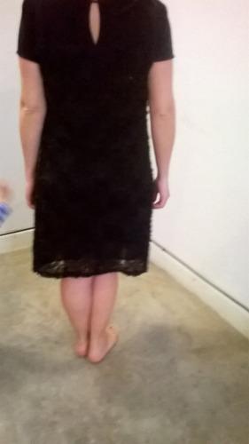 vestido negro importado made in turquia talle 46