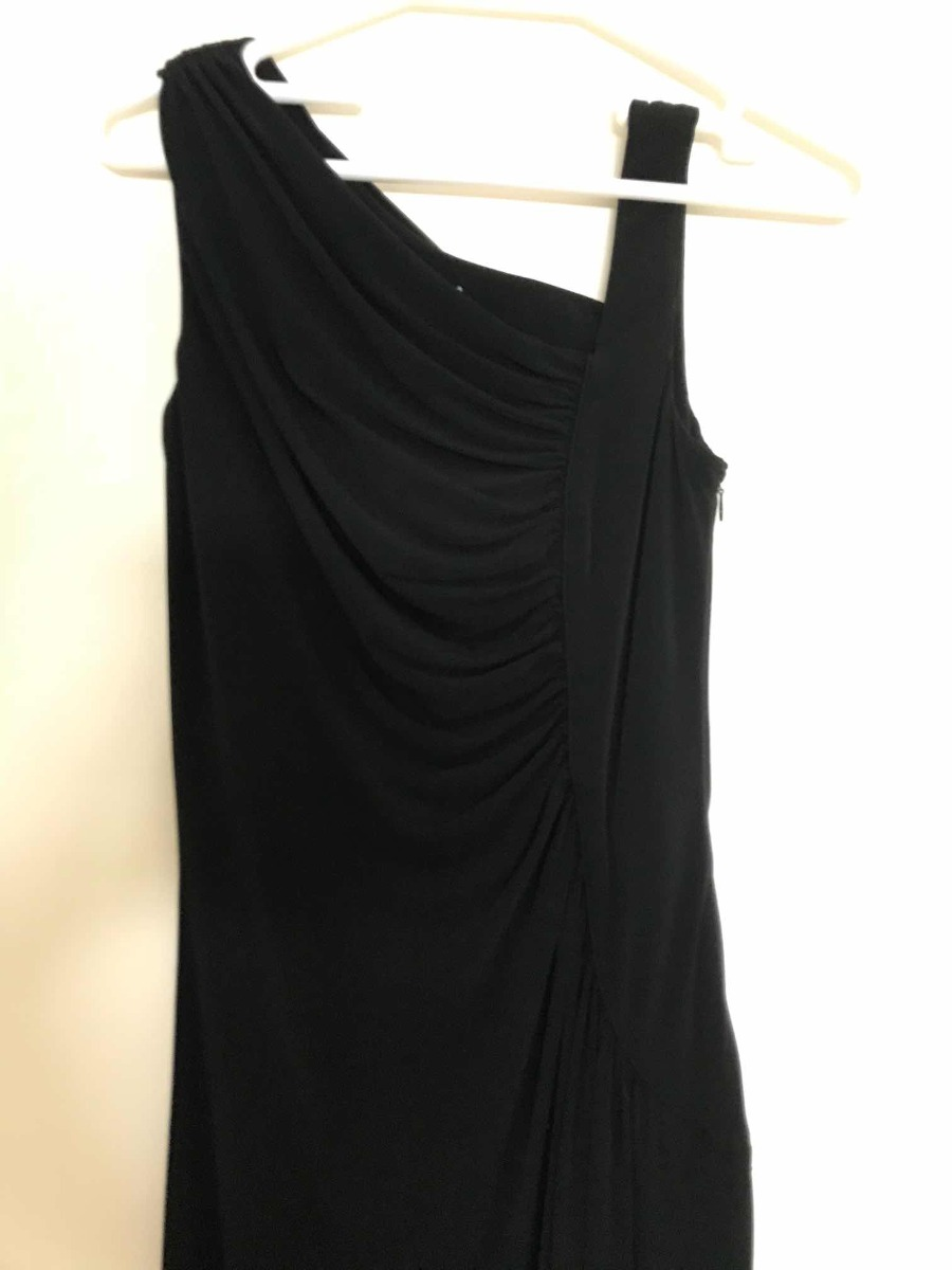 Vestido calvin klein negro precio
