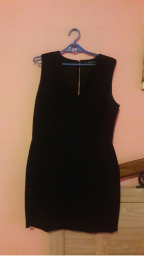 vestido negro mng.santa tecla