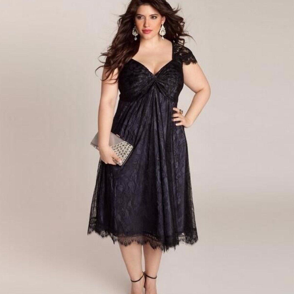 Vestido formal mujer negro