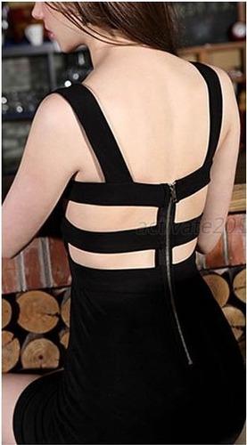 vestido negro noche