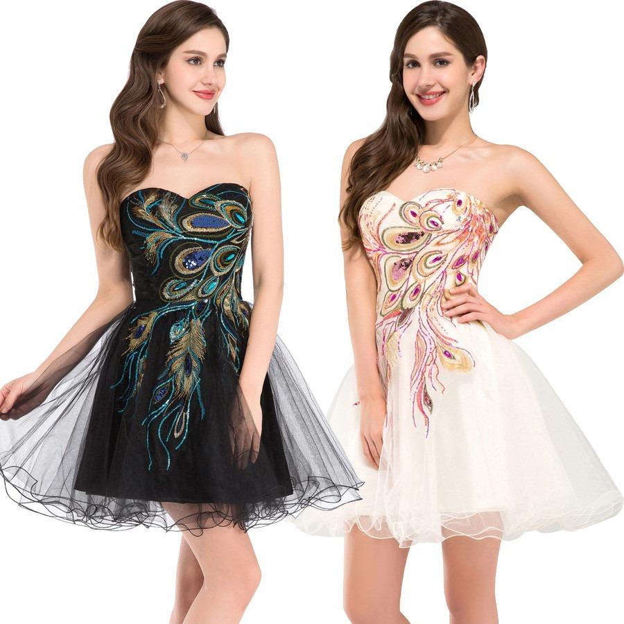 Vestido Negro O Blanco Fiesta/noche/gala/matrimonio, Mujer