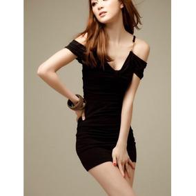 Vestido negro sencillo