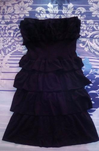 vestido negro talla unica
