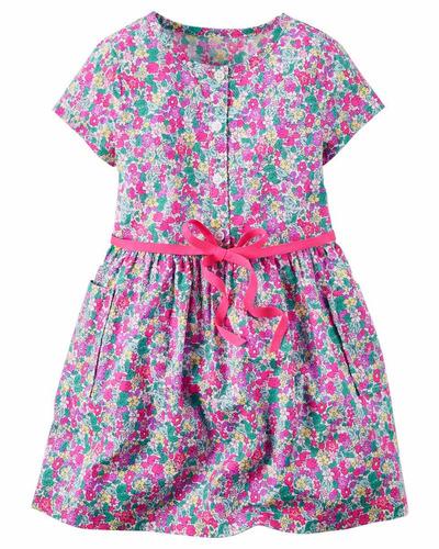 vestido nena carters  imperdibles  18 meses    4 y 6 años