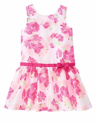 vestido nena - gymboree - talle: 8